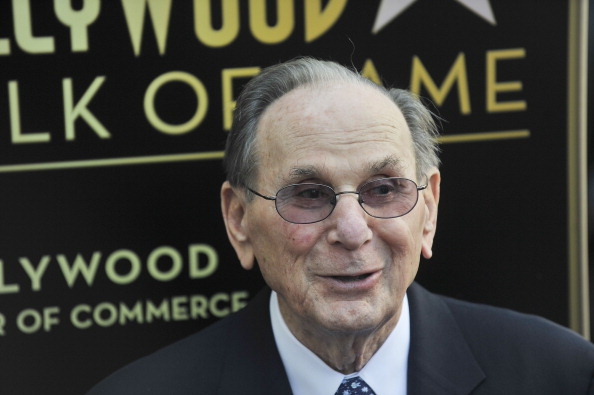 HOLLYWOOD, CA - OCTOBER 14: Hal David is honored with a Star in celebration of his career and 90th birthday on October 14, 2011 in Hollywood, California. (Photo by Toby Canham/Getty Images)