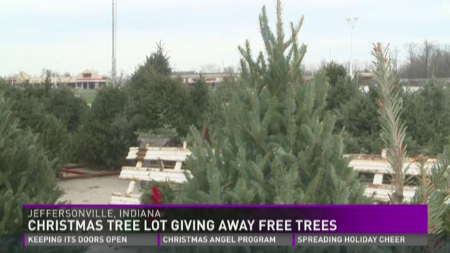 free christmas trees given to needy families