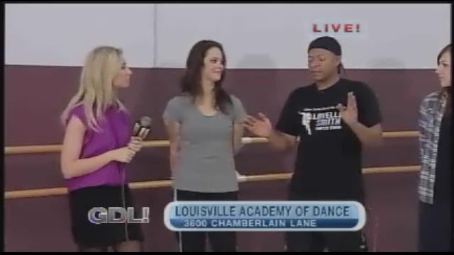 Dance lesson with Michael Jackson's choreographer LaVelle Smith, Jr.