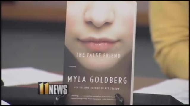 "Author Myla Goldberg joined WHAS11's Renee Murphy  to talk about her book ""The False Friend."""