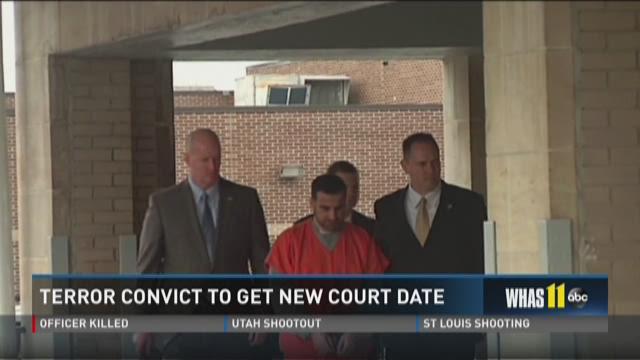 Terror convict to get new court date