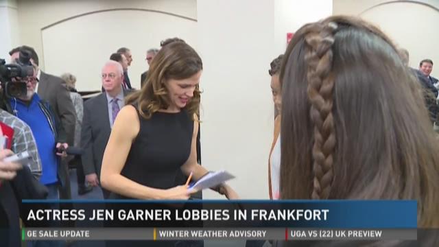 Jennifer Garner and Mark Shriver were in Frankfort