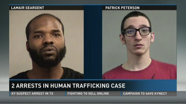 2 arrests in human trafficking case