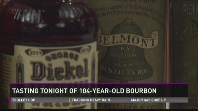 104-year-old bourbon tasting