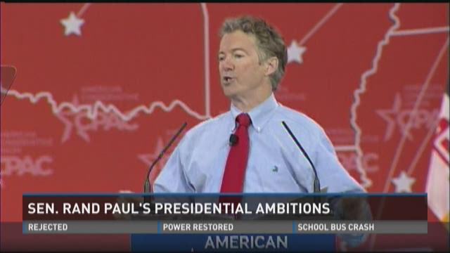 Video | Sen. Rand Paul's Presidential ambitions