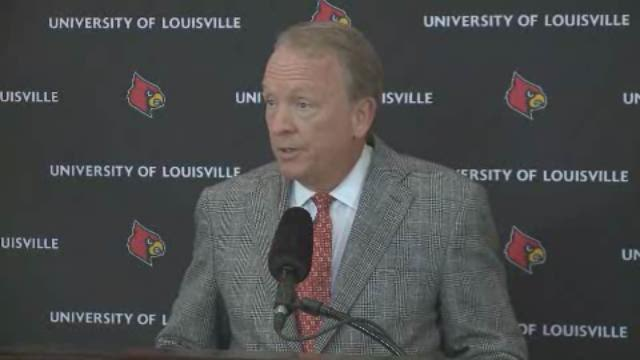 UofL interim basketball coach announcement