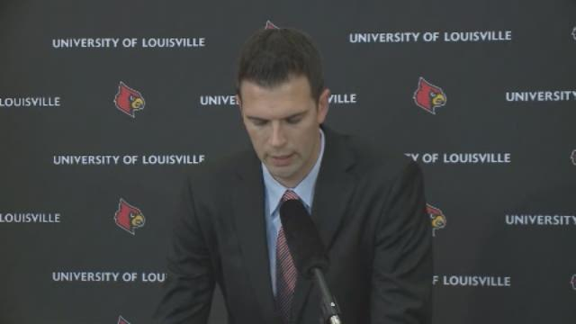 David Padgett named UofL's interim basketball coach