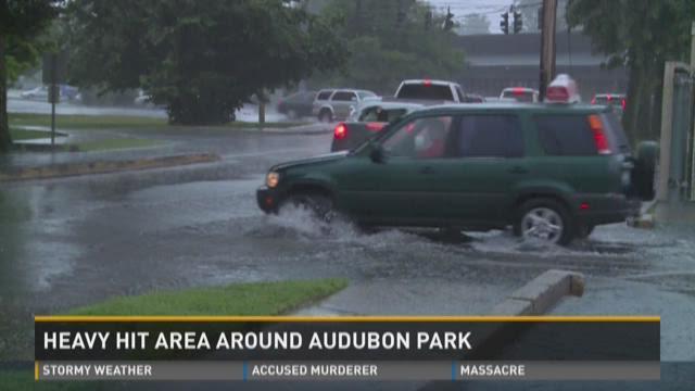 Video | Flooding around Audubon Park