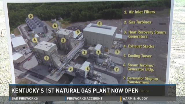 Kentucky's first natural gas plant now open