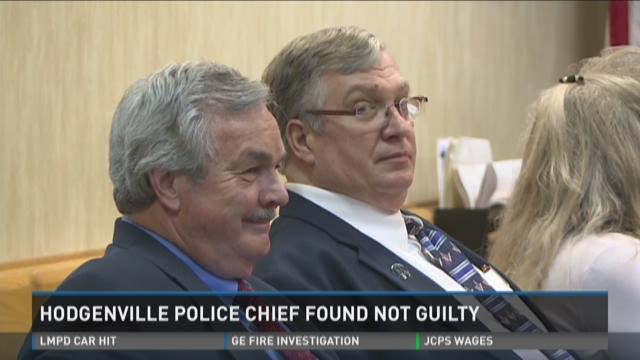 Hodgenville Police Chief acquitted