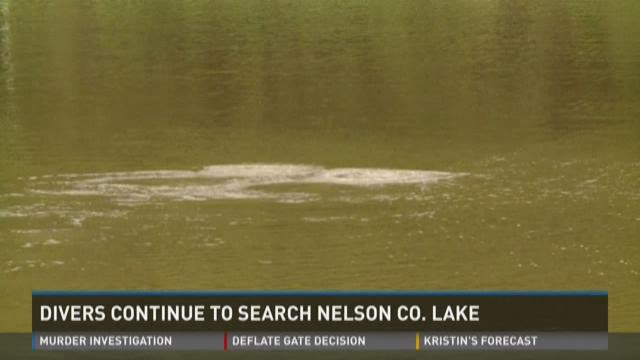 Divers continue to search Nelson Co. Lake
