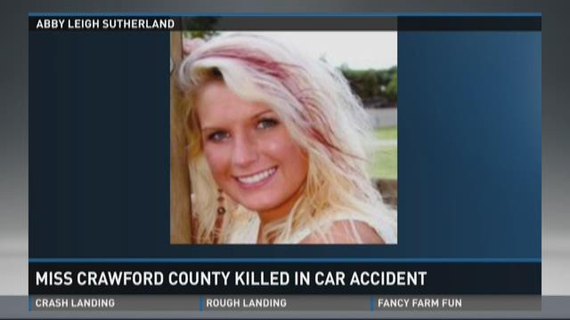 Video | Miss Crawford County killed in car accident