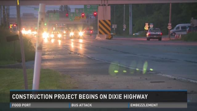 Year Long Dixie Highway Repavement Project Underway