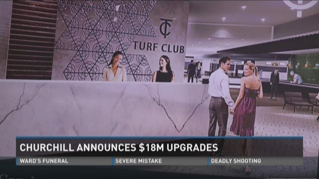 Churchill Downs announces $18M upgrades