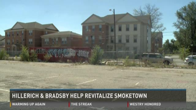 Louisville Slugger manufacturer Hillerich & Bradsby Co. announced on Sept. 14 it's donating a 2-acre parcel of land in Smoketown to the Community Foundation of Louisville.