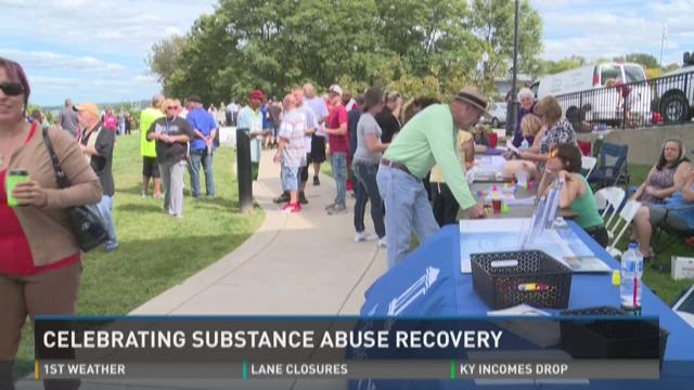 Groups gather to support, encourage substance abuse recovery