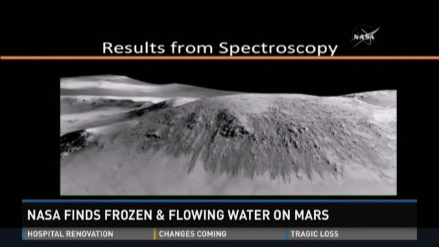 INTERVIEW: NASA finds frozen and flowing water on Mars