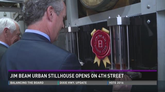 Jim Beam Urban Stillhouse opens on 4th Street